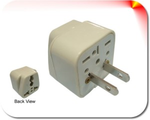Campus Linens Canada - Electric Current Adapter