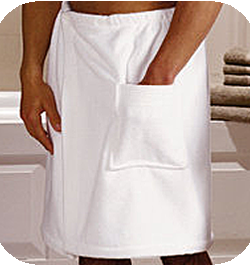 Campus Linens Canada - Mens Bath Wrap